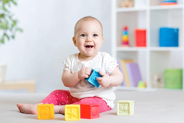 Aktivity pre aktívne dieťa vo veku 11 mesiacov